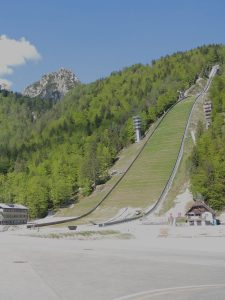 Flugschanze in Planica